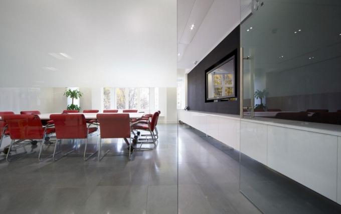 White Conference Room Design