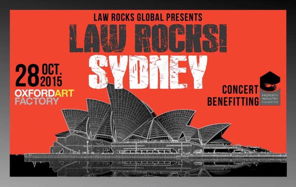 Law Rocks! Sydney