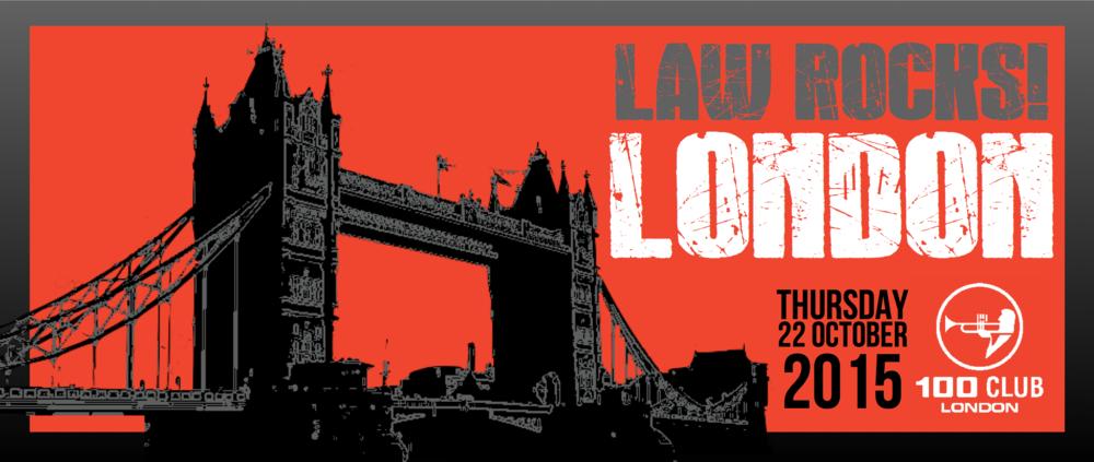 Law Rocks! London October