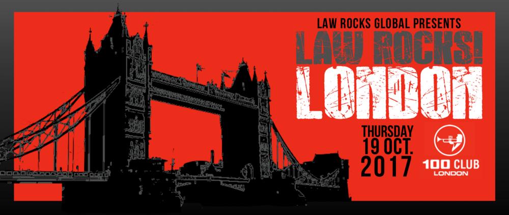 Law Rocks! London October 2017