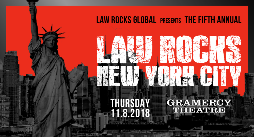 Fifth Annual Law Rocks New York City