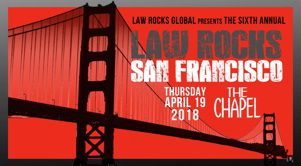 Law Rocks San Francisco