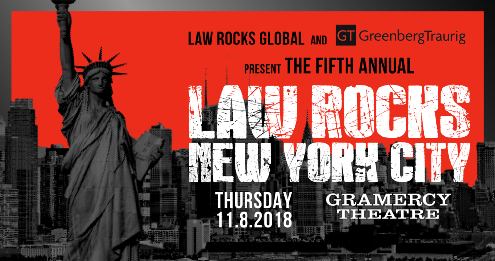 Law Rocks New York City