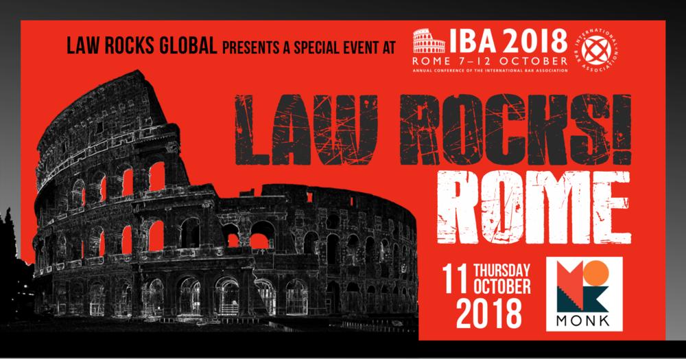 Law Rocks! Rome