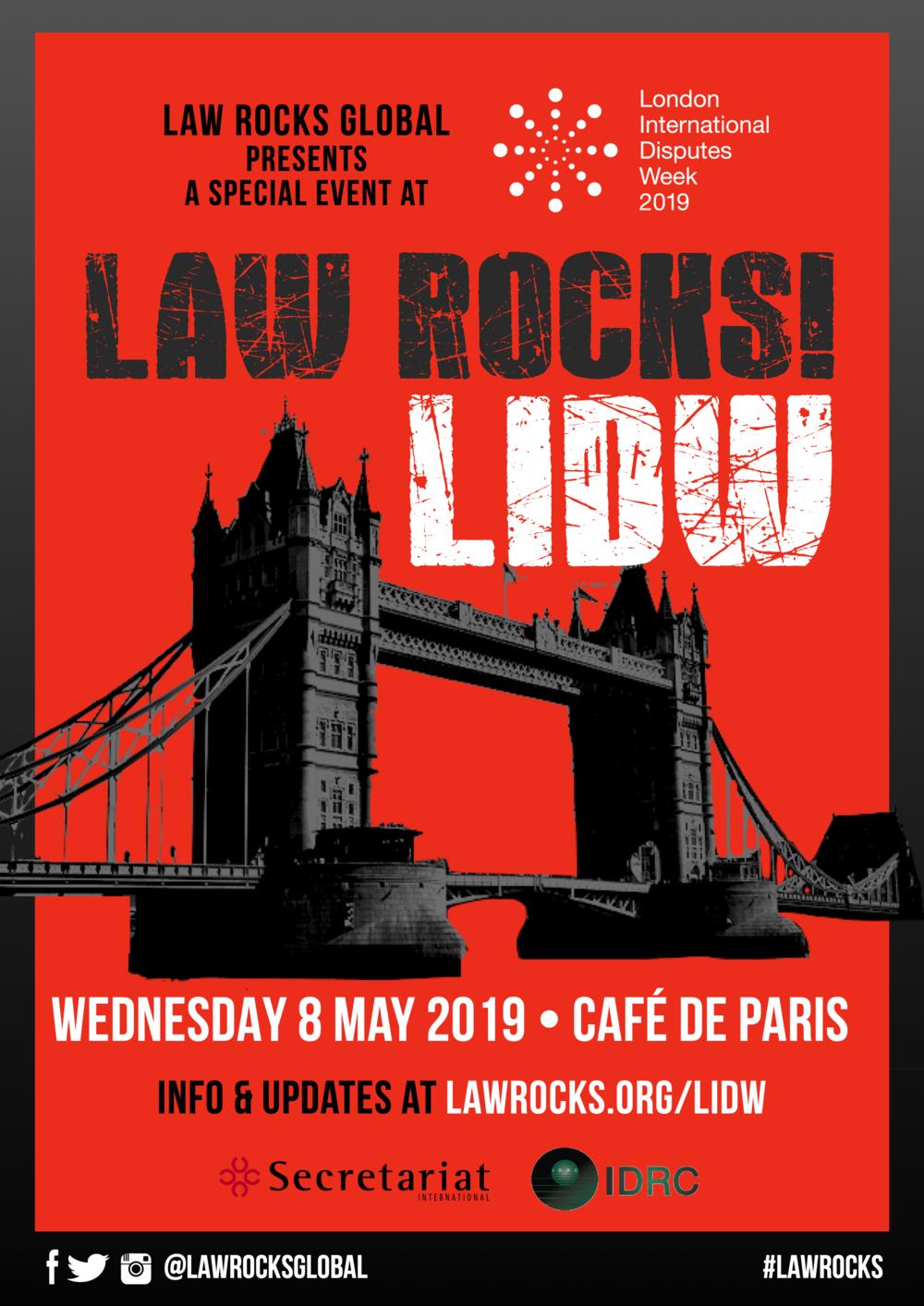 Law Rocks! LIDW
