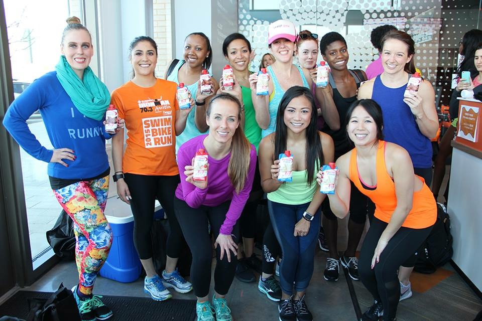 Representing Premier Protein at an OrangeTheory event in Dallas.