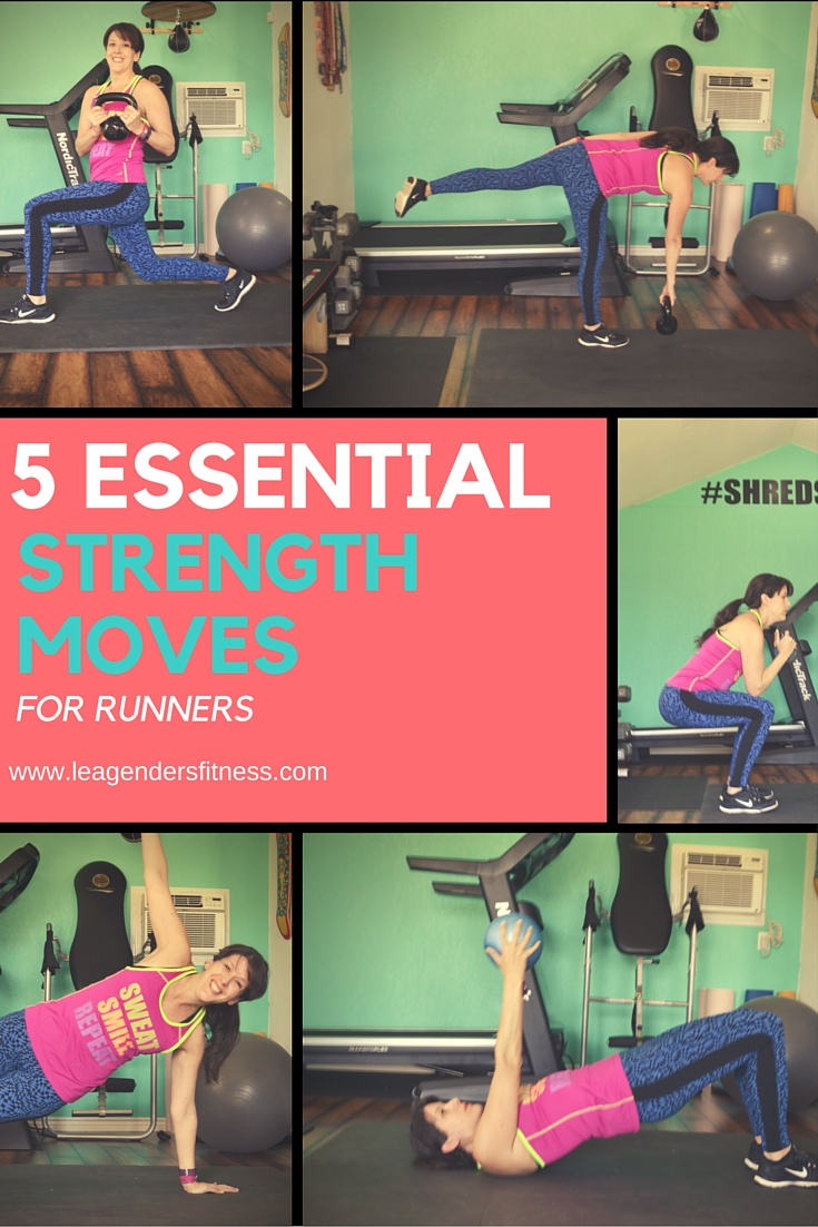 five essential strength moves for runners