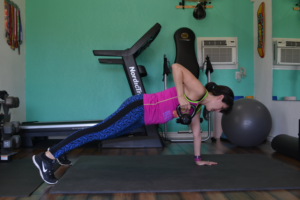 row to side plank (part one)
