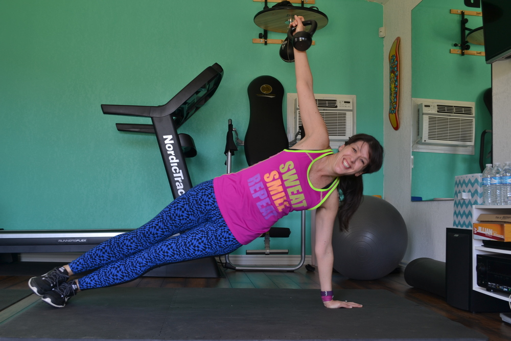 row to side plank (part two)