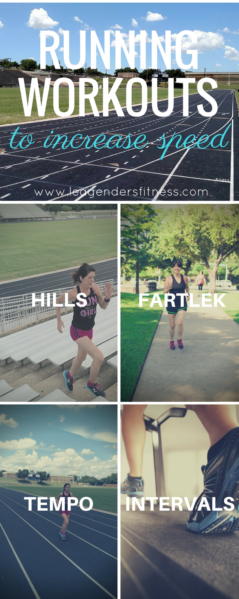 Types of Running Workouts to Increase Speed
