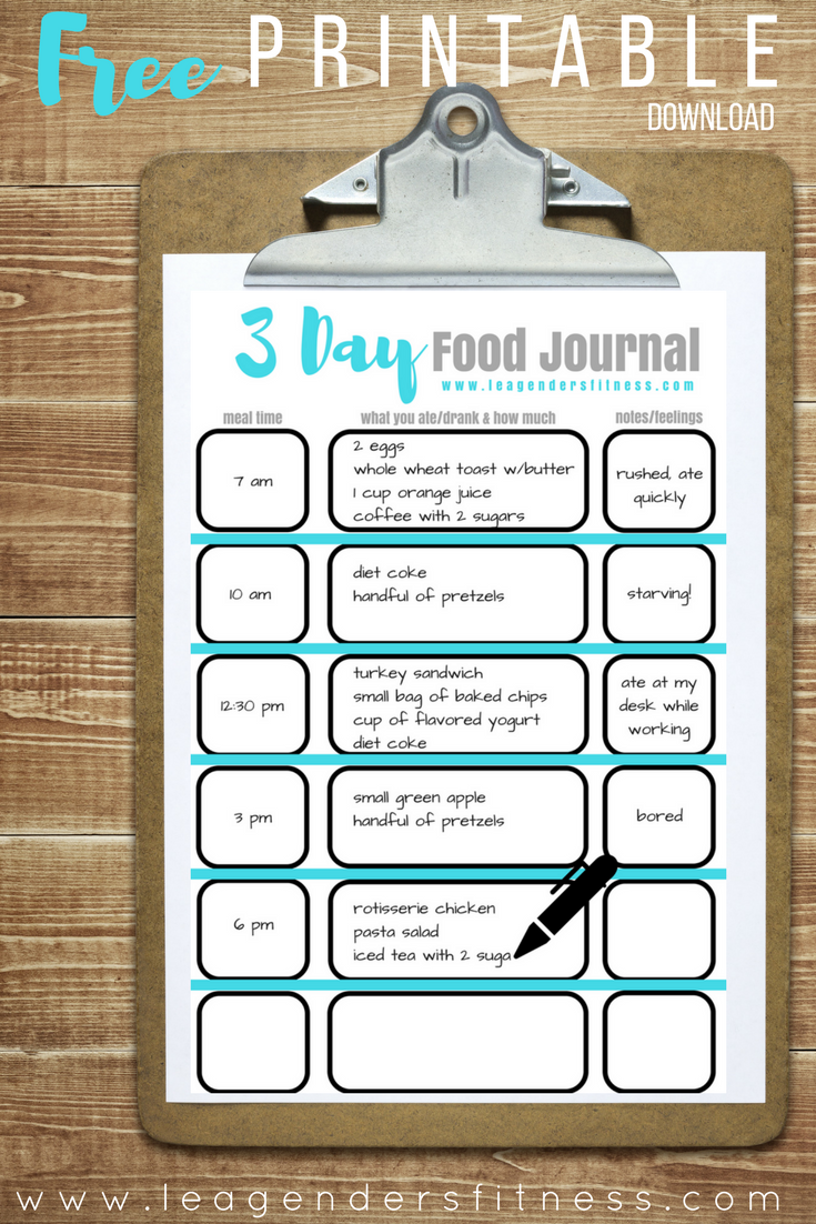 downloadfreefoodjournal