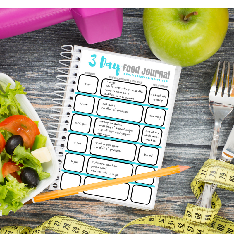 52 healthy habits how to self assess your food journal lea