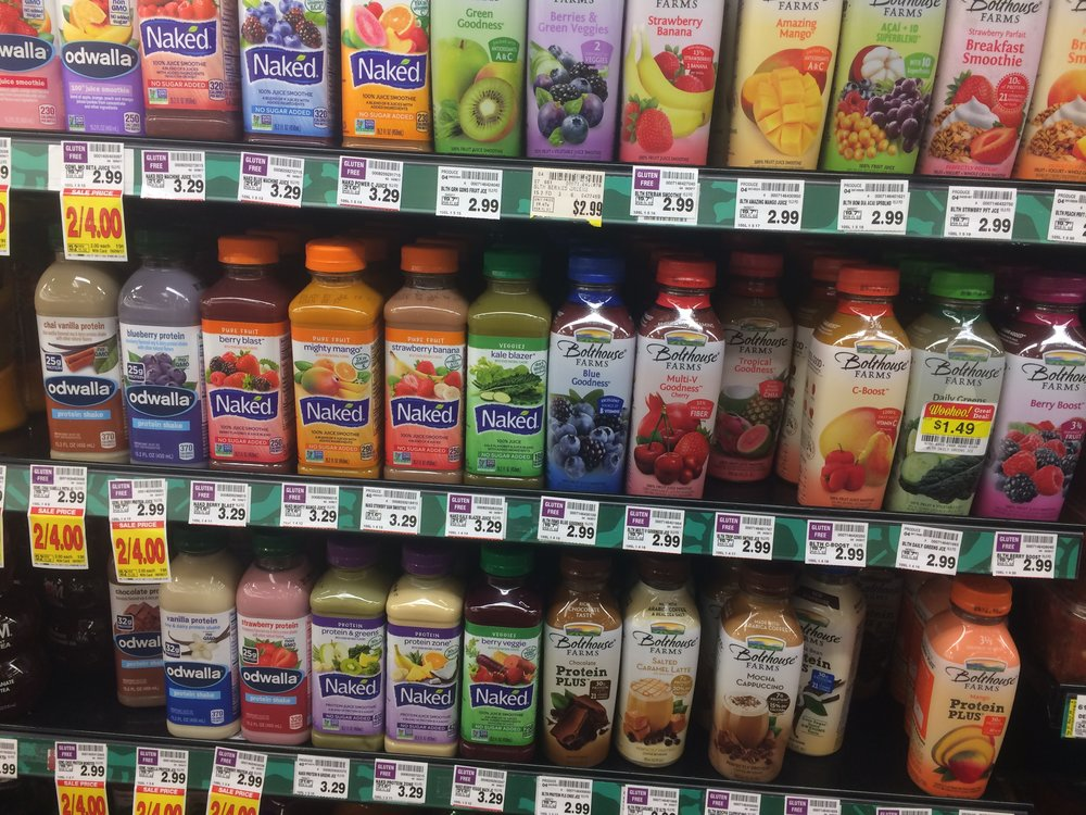 Most of these seemingly healthy drinks are not healthy at all. (shakes fist at food marketers)