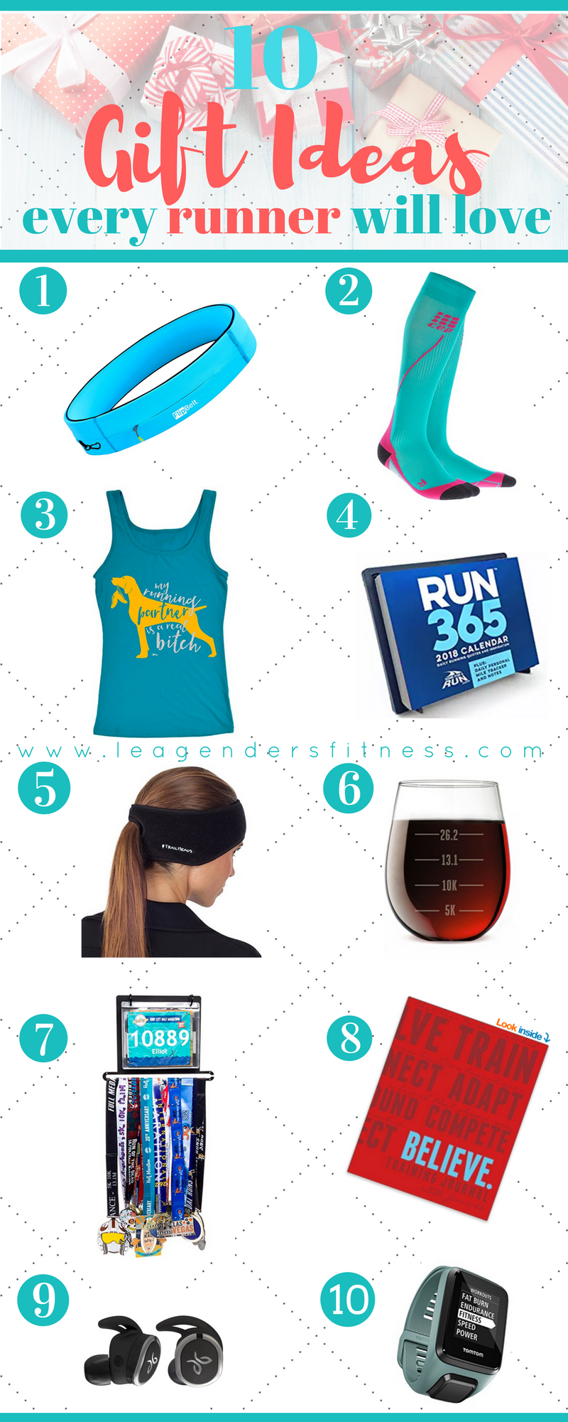 10 Gift Ideas Every Runner Will Love. Save to Pinterest