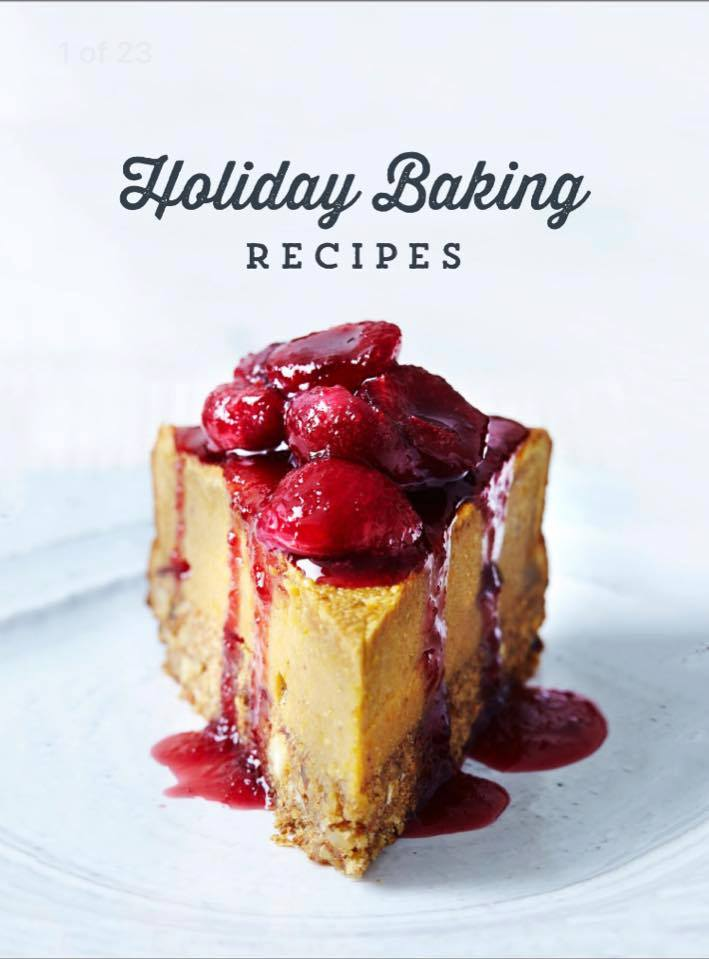 Holiday baking recipes, traditional and healthy versions included. Save to Pinterest for later.