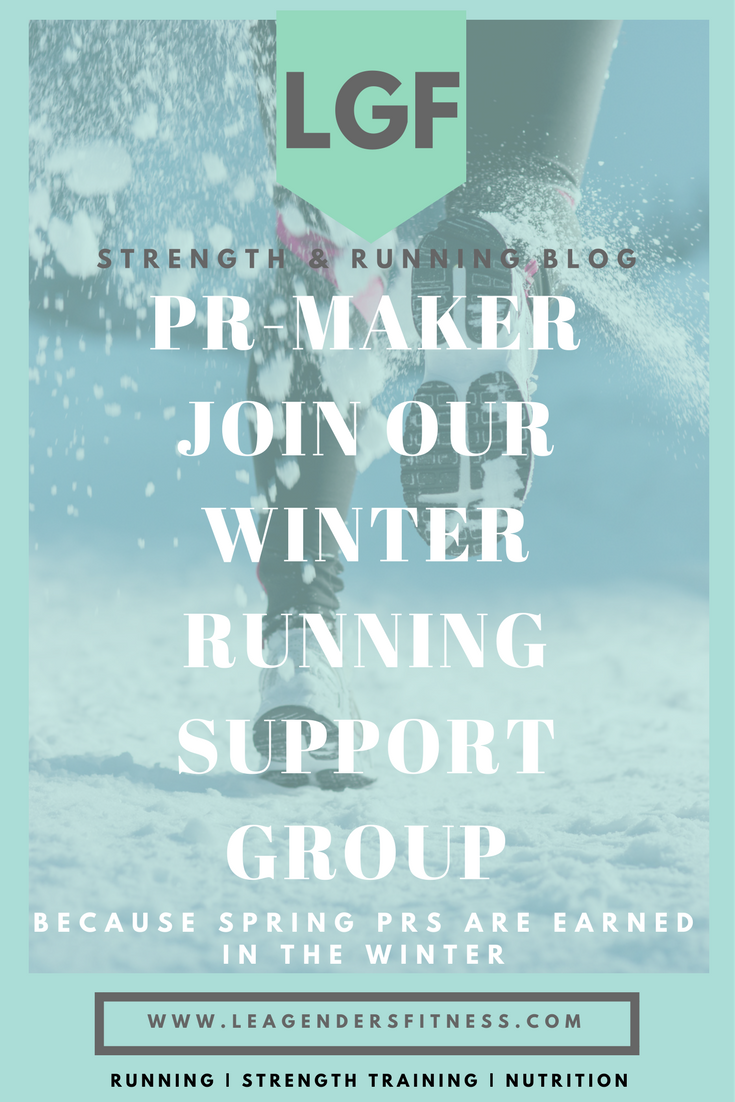 PR-MAKER WINTER RUNNING SUPPORT GROUP