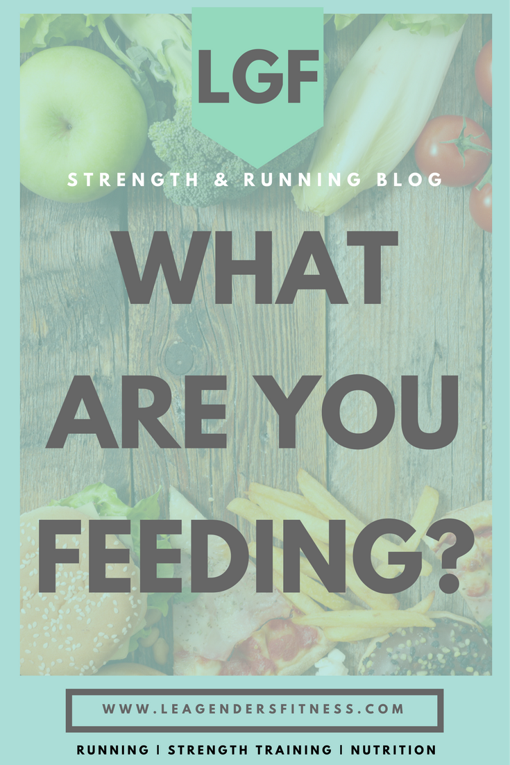What are you feeding?