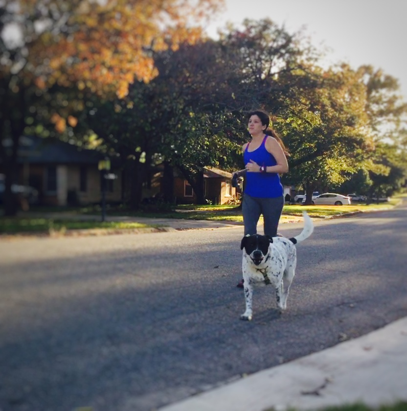 Running with Ollie