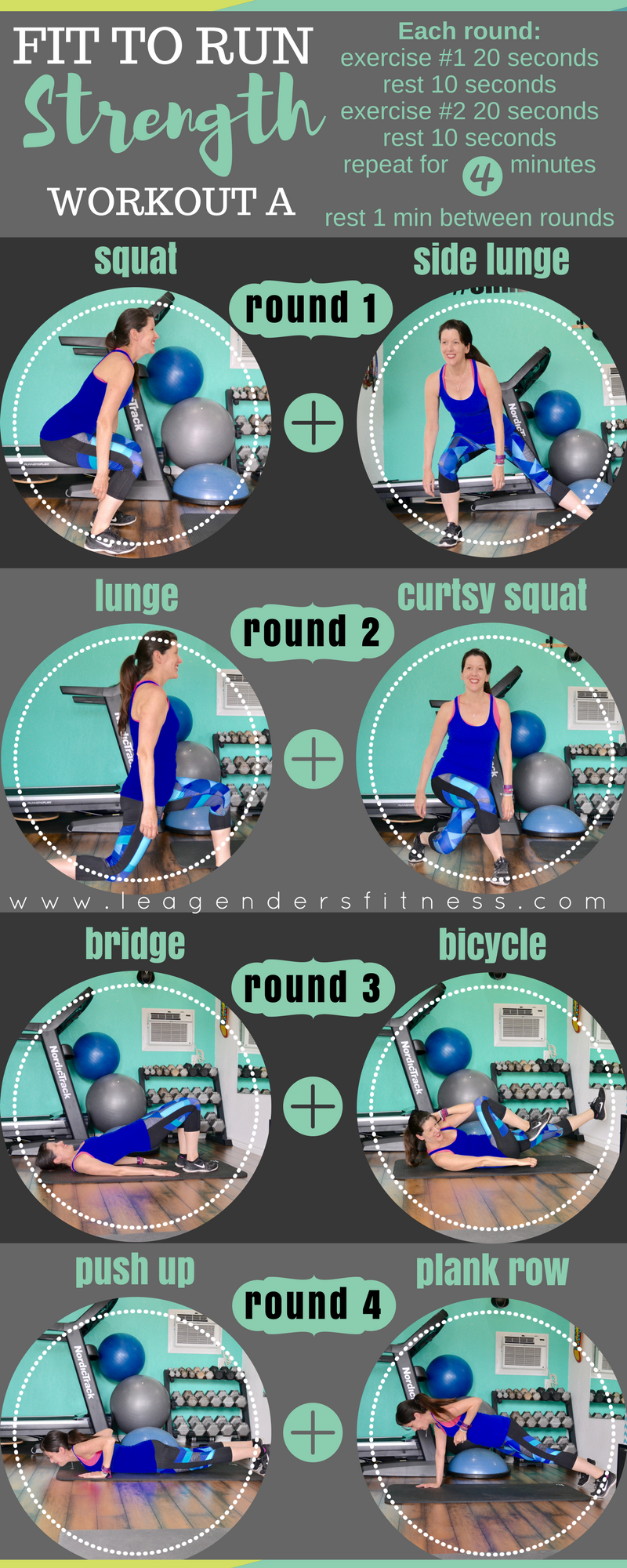 strength training for runners. Save to your favorite Pinterest workout board for later.