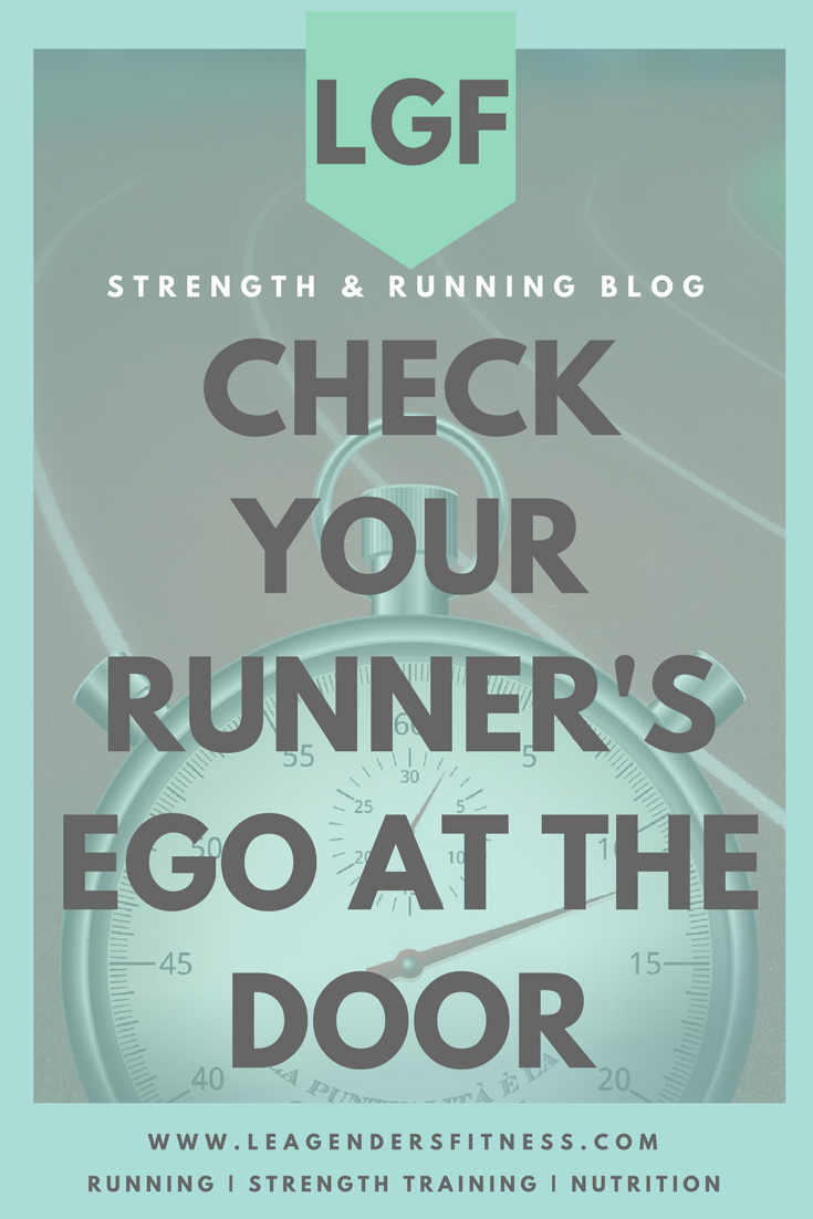 Check your runner's ego at the door...and save to your favorite Pinterest fitness board for late.