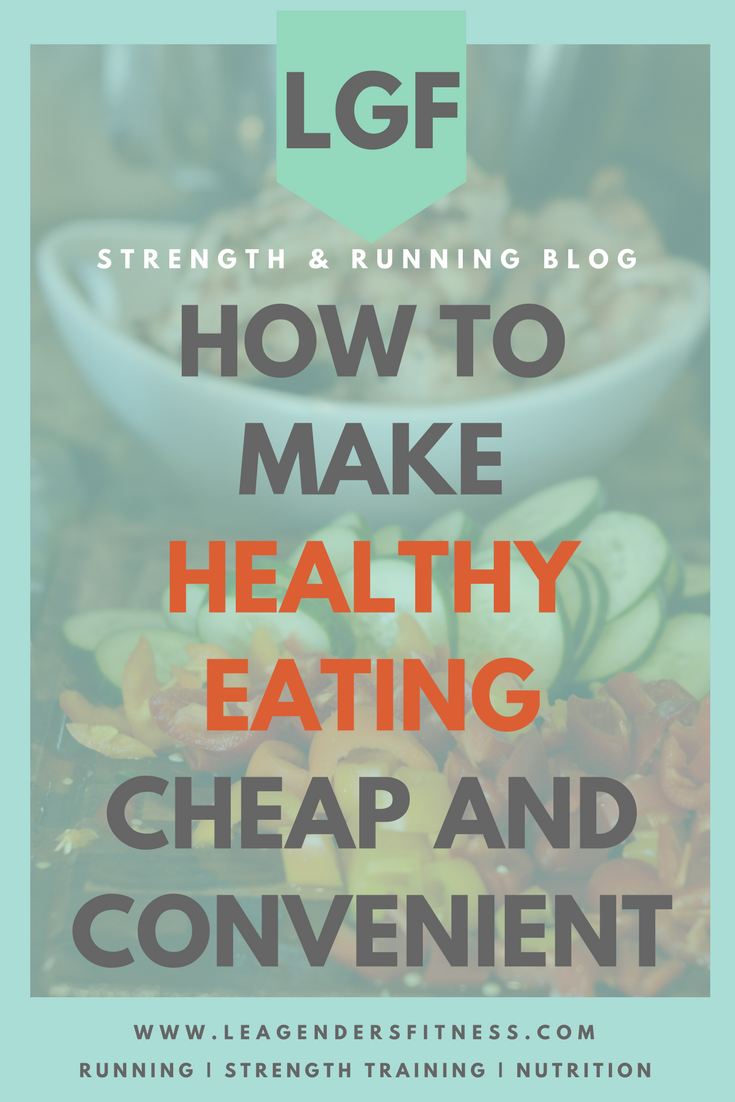 how to make healthy eating cheap and convenient. Save to your favorite Pinterest board for later.