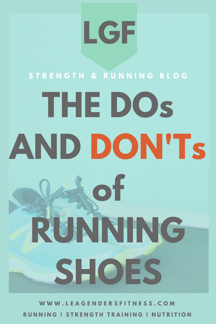 the DOs and DON'Ts of running shoes. Save to your favorite Pinterest running board for later.