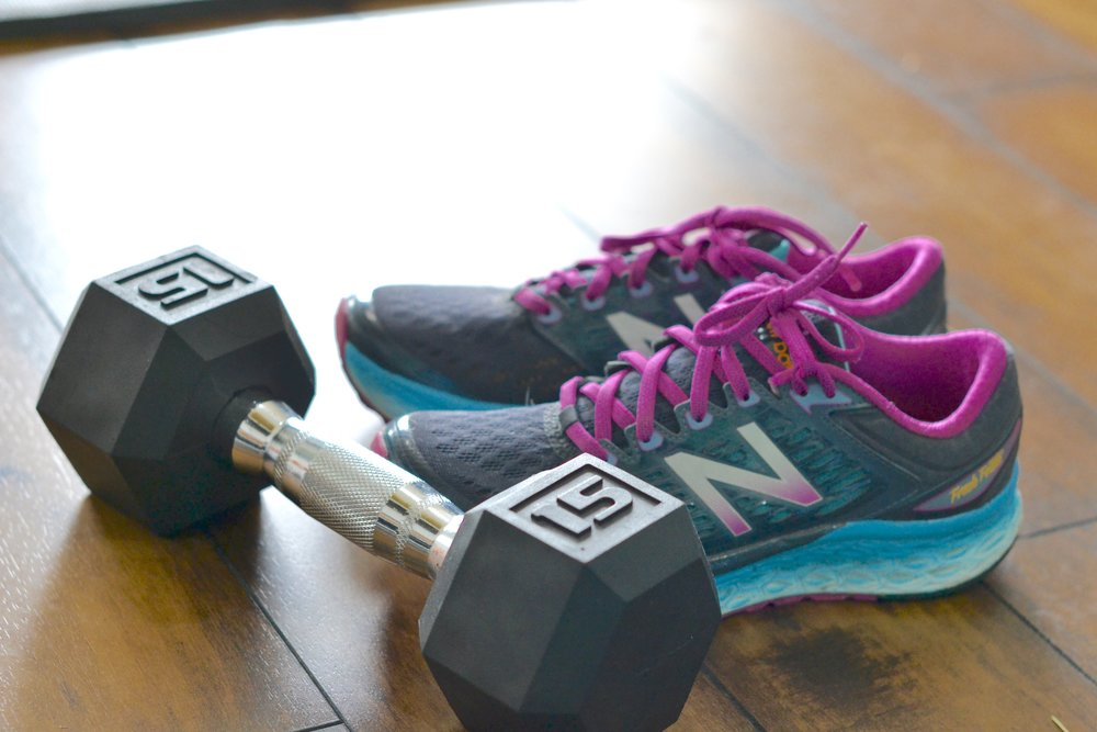 running shoes and weights.jpg