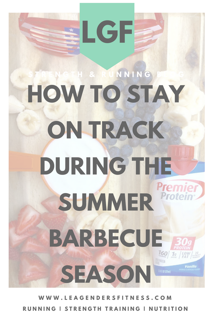 how to stay on track during the summer barbecue season. Save to your favorite health and fitness Pinterest board for later.