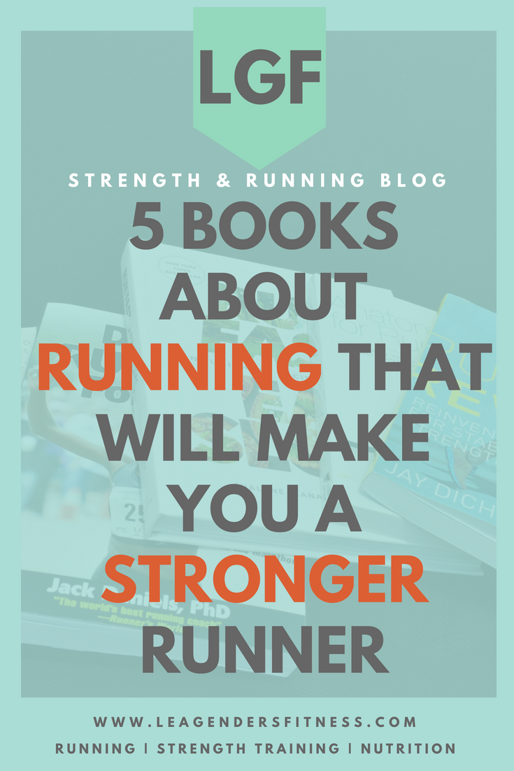 5 books about running that will make you a better runner. Save to Pinterest for later.