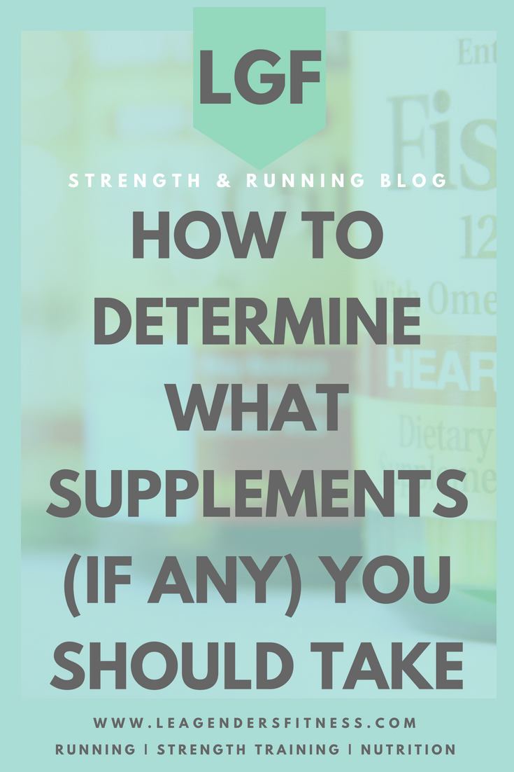 How to determine what supplements you should take, if any. Save to your favorite Pinterest board for later.