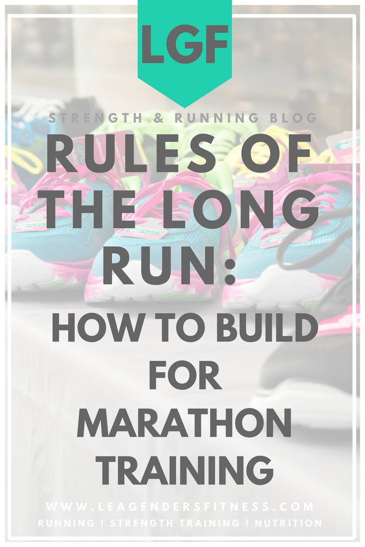 rules of the long run: how to build for marathon training. Save to your favorite running Pinterest board for later.