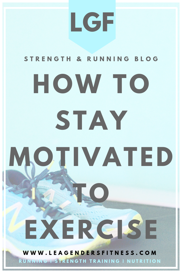 How to stay motivated to exercise. save to your favorite Pinterest board for later.