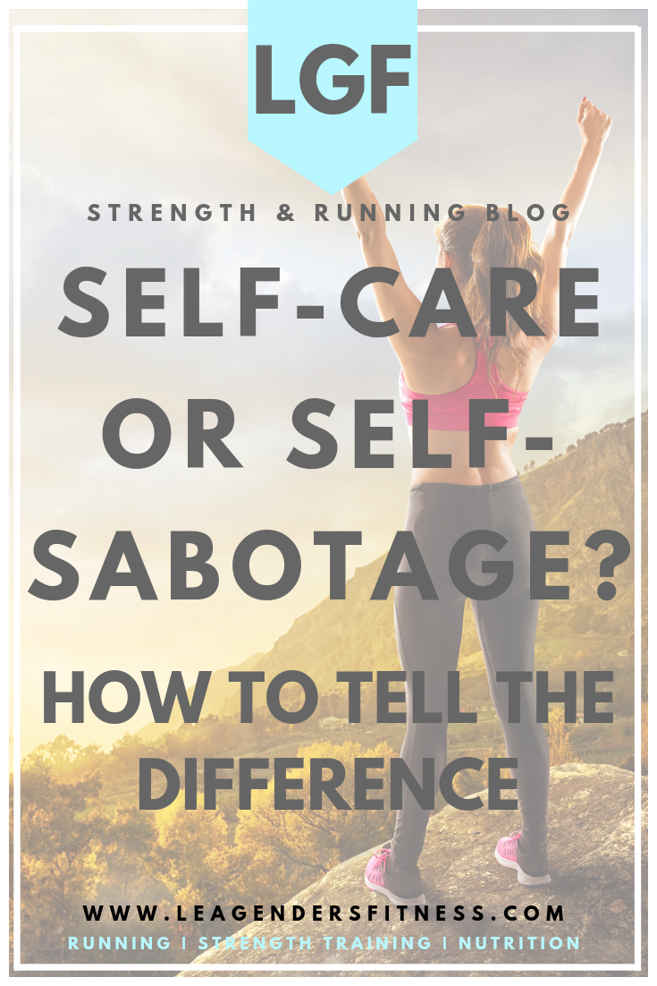 self-care of self-sabotage? How to tell the difference. Save to your favorite Pinterest board for later.
