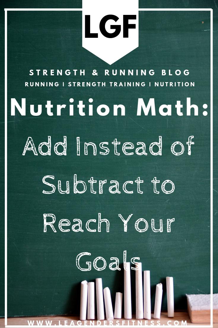 nutrition math
