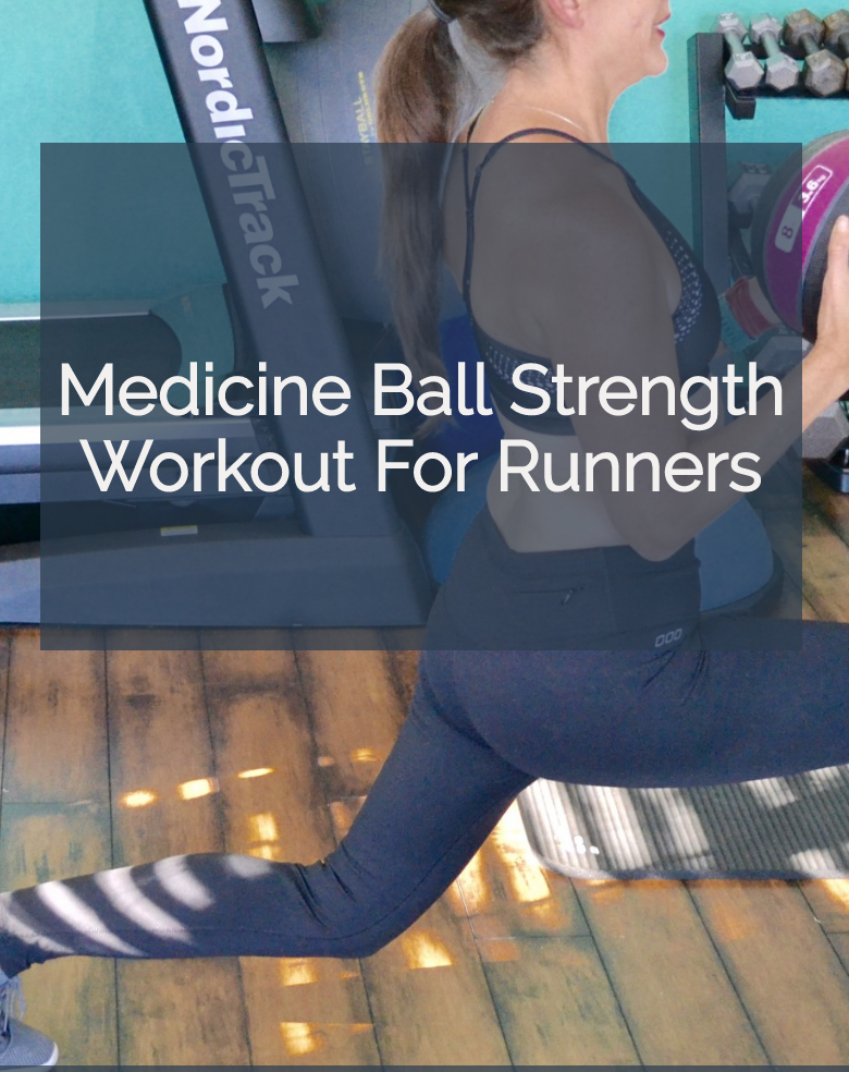 medicine ball strength workout for runners