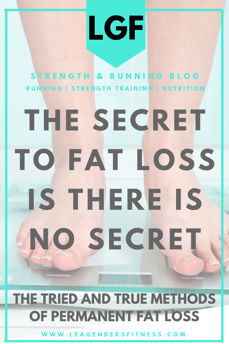 The secret to fat loss is there is no secret. Save to your favorite Pinterest board for later.