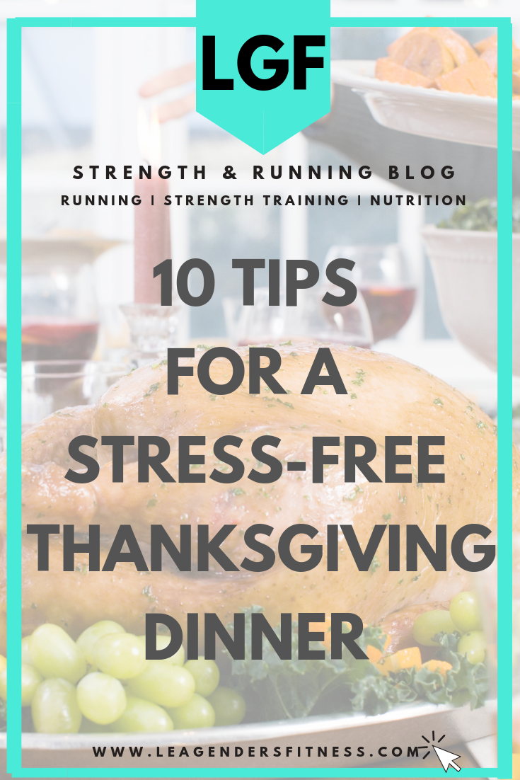 10 tips for a stress-free Thanksgiving dinner. Save to your favorite Pinterest board for later.
