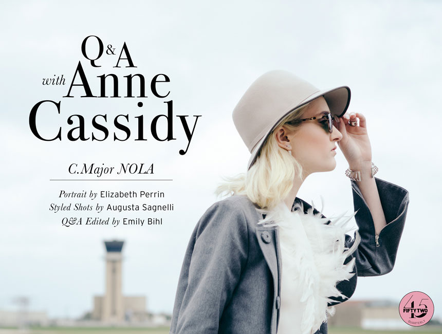 Q+A: ANNE CASSIDY OF C.MAJOR