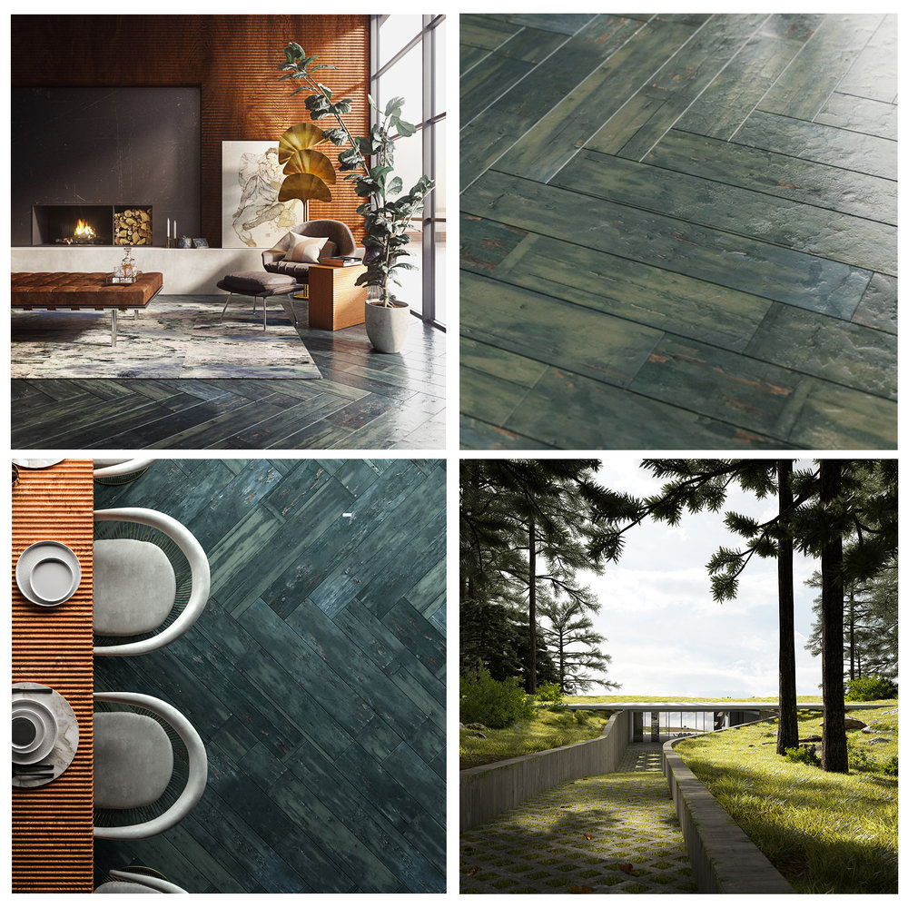 Research & Development - Our team can turn an idea or prototype into a reality.Visualize a new product line and create the assets for the first marketing materials before ever hitting the production line. For example, we have recently partnered with Nolan Beck to visualize his custom flooring designs.