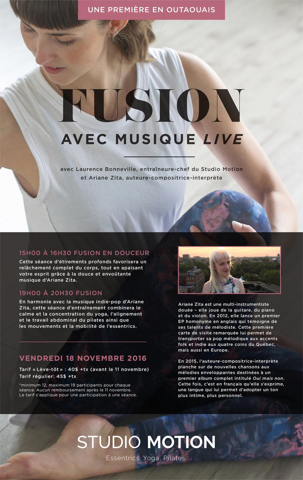 Studio Motion Ariane Bdard