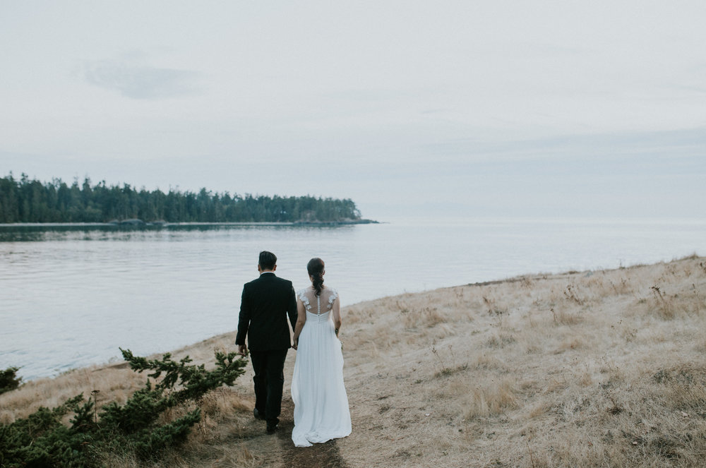 sunset wedding photographer seattle