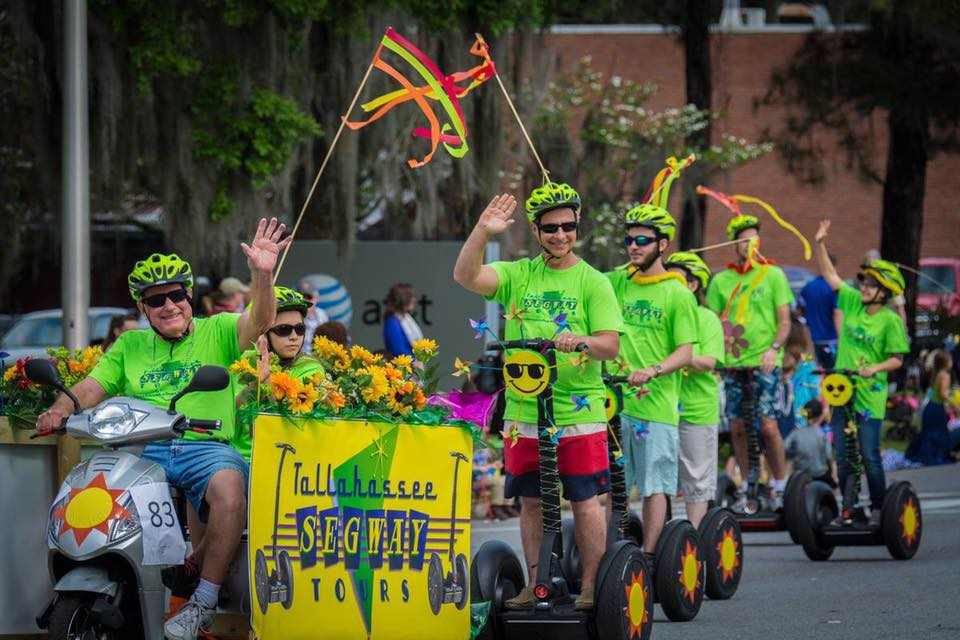 2016 SPRINGTIME TALLAHASSEE PARADE  See us again April 1, 2017!