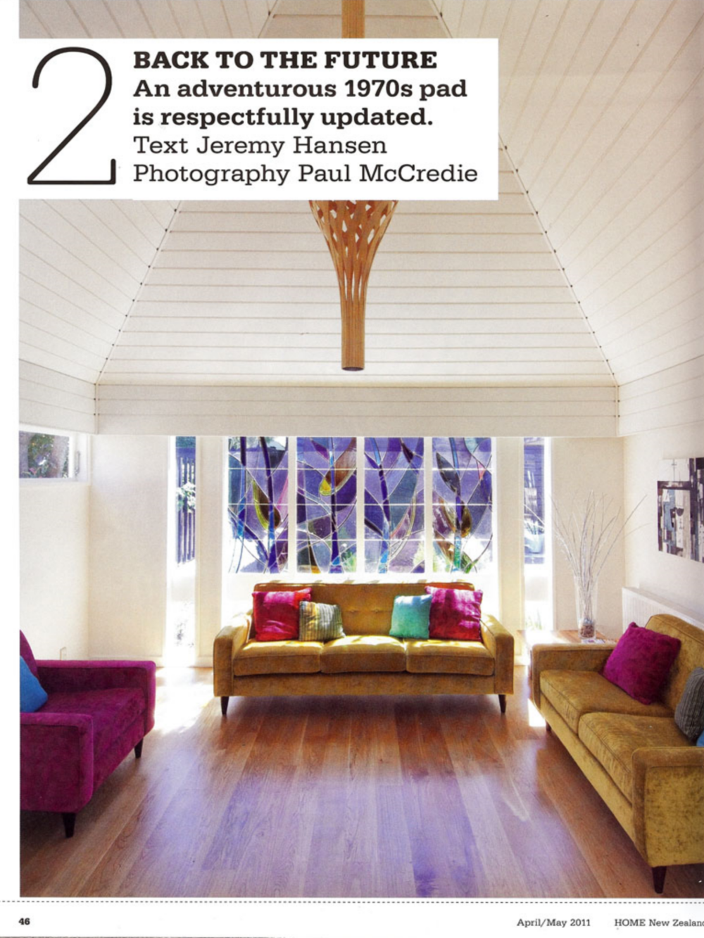 Home Magazine April / May 2011