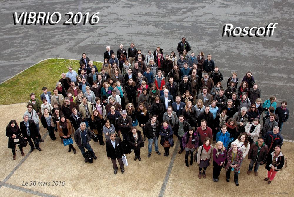 Vibrio2016 attendees