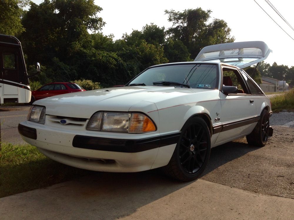 4.6 4V swapped fox body