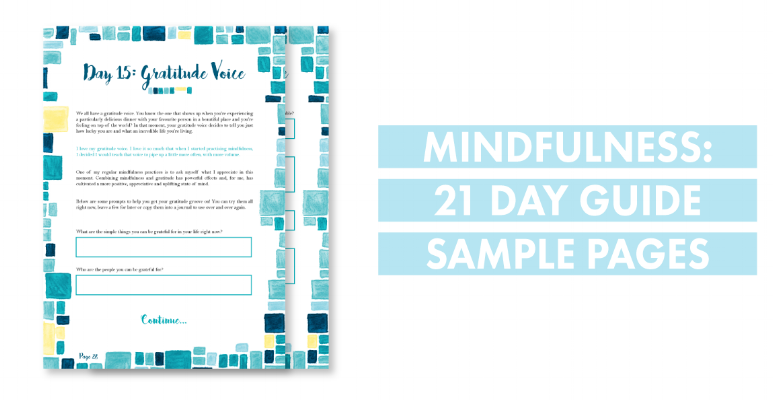21 day mindfulness ebook sample