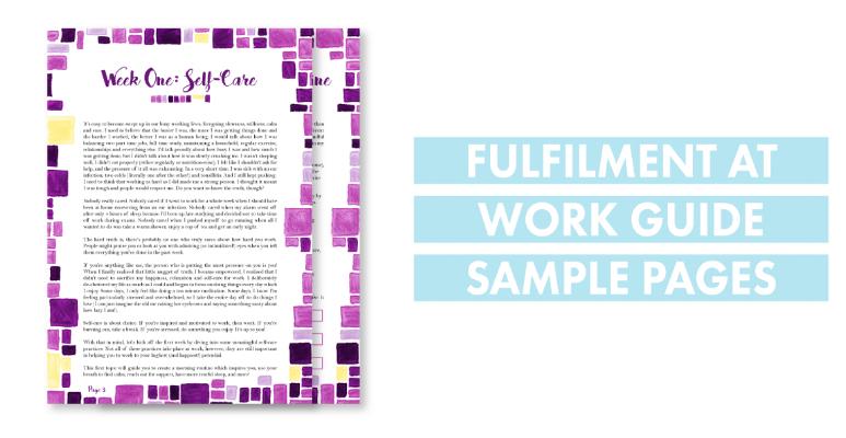 fulfilment at work ebook sample