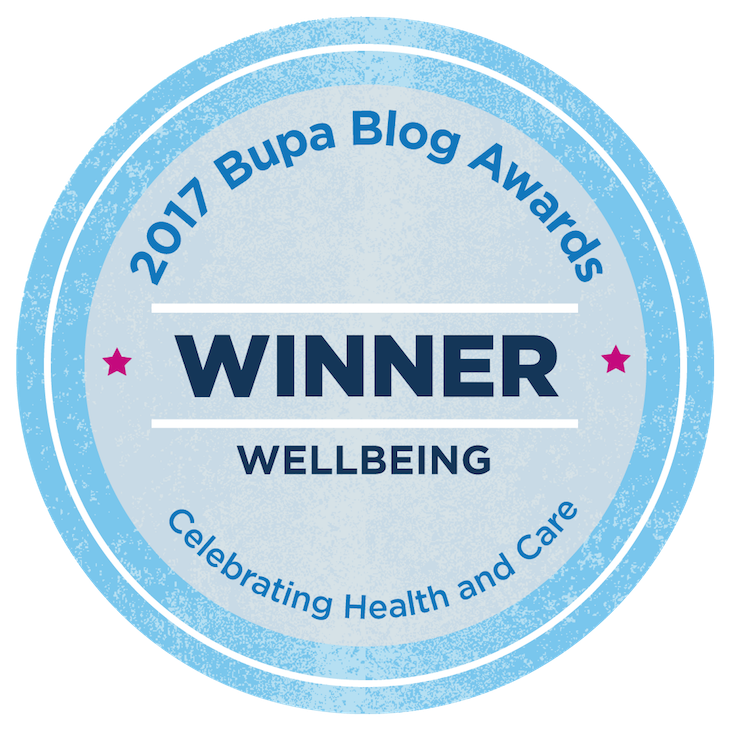 2017 Bupa Blog Awards Winner_Wellbeing Rachael Kable