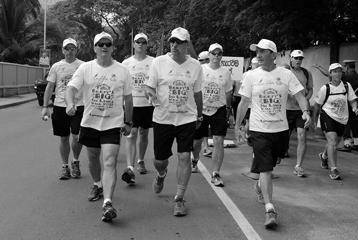 Laureus Sir Ian Botham Beefy's Big Sri Lanka Walk 2013