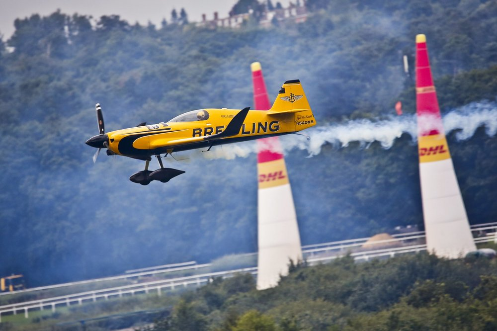 GROWING FANBASE FOR THE RED BULL AIR RACE